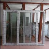 Puerta de vidrio de desplazamiento de aluminio blanca revestida del polvo caliente de la venta