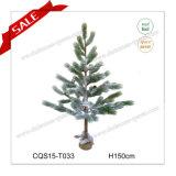 150cm la decorazione della casa artificiale più realistica dell'albero di Natale del mestiere del mondo