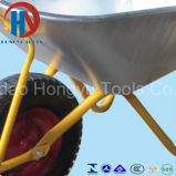 Estilo europeu com o carrinho de mão de roda do pneu do reforço