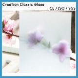 セリウム及びISO9001の3-12mmのゆとりのフロスティングのフロートガラス