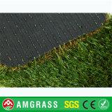 証明された安い高品質の人工的な泥炭、20mmの庭の合成物質の草