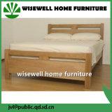 Base dobro de madeira de pinho para o quarto (W-B-0075)