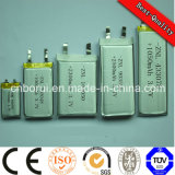 300mAh 3.7V Lithium Li Ion Polymer Batterie pour casques Bluetooth
