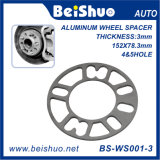 5mm delle leghe di alluminio 4 e 5 distanziatore della rotella dell'aletta per il veicolo automatico
