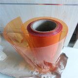 Лист PVC цвета чая для используемый Pharma кристаллический упаковывать волдыря