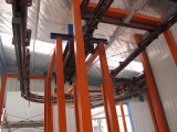 Powder automatico Coating Line per Narrow Space