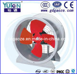 Ventilateur à soufflante axiale d'échappement à ventilation industrielle à faible bruit
