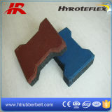 옥외 Rubber Tile 또는 Dog Bone Rubber Tile/Outdoor Paving Rubber Tiles