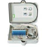 Rectángulo de distribución óptico al aire libre de interior de fibra del cable 16 terminales materiales Telecom de Malasia del ABS de FTTH Waterprrof