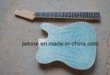 Quilted Maple Top Maça de corpo Qualidade Tele Guitar Kit