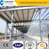 Costruzione facile del magazzino di Prefeb della struttura d'acciaio dell'Assemblea di basso costo