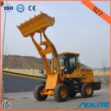 Máquina movente da terra com Ce, carregador da parte frontal de China 1-2ton, carregador de pá dianteiro