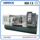 Niedrige Kosten-flaches Bett-Typ CNC-automatische Maschinen-Drehbank Ck6180b