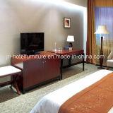 Mobília de madeira moderna chinesa do quarto do hotel