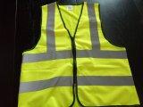 Veste 100% reflexiva da segurança do poliéster para a proteção