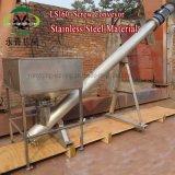 Transporte de parafuso horizontal padrão da espiral do cimento de Shaftless para o concreto