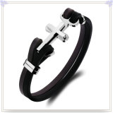 Schmucksache-Form-Leder-Armband-Leder-Schmucksachen (LB613)