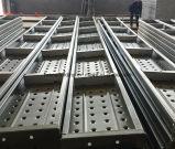 Mejor tablón estándar del metal, andamio móvil 210mm*45mm*1000mm*1.8m m de la construcción 2.0m m