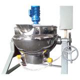 Nahrungsmittelgesundheitlicher elektrischer kippender Mantelkessel 200L