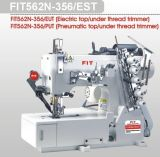 Interlock Máquina de coser con hilo Auto Trimmer (FIT562N-356 / EST)