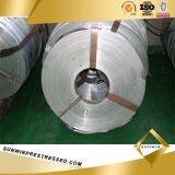Galvanized cru Steel Band pour Corrugated Duct