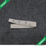 Contrassegni organici su ordinazione del cotone di disegno professionale