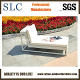 藤のLoungerのソファーの屋外の柳細工のラウンジか枝編み細工品のChaiseのラウンジ(SC-9602)