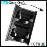 Spiel-zusätzliche Doppelladestation mit Konsolen-Kühlventilator 4 USB-Nabe für xBox eins dünnen Controller