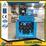 "Máquina de friso da mangueira 6s hidráulica industrial de Digitas 2 da tela de toque P52 """