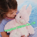 [س] ليّنة [ستثفّ نيمل] أرنب يهدّئ طفلة يليّن لعبة