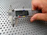 O aço/alumínio/cobre perfuraram o engranzamento do metal - revestimento do moinho ou de pintura/areia de PVDF revestimento do sopro