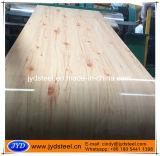 PPGI/PPGL avec le modèle en bois
