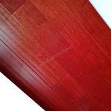 Suelo del abedul/abedul de madera dirigido del suelo con color de la mancha de óxido