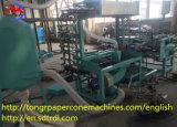 Chaîne de production de papier semi-automatique de cône