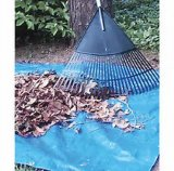 Tela incatramata blu del polietilene/strato a terra/coperchio di campeggio leggero