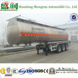 Combustibile della lega di alluminio di alto livello 35cbm di ASME/rimorchio serbatoio di Disel