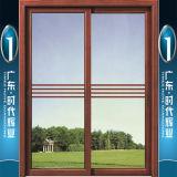 Portes coulissantes en aluminium de prix concurrentiel de constructeur de Foshan avec différents panneaux
