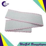 Kundenspezifische Qualitäts-reine Baumwolle mit Farben-Rand 4cm