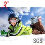 Esquí impermeable y chaqueta el ir de excursión (QF-675)