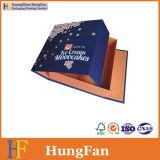 Boîte cadeau en papier de luxe avec rabat Insérer dans la forme du livre