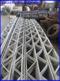 Конкретные ферменная конструкция кирпича соединения конструкции и сетка подкрепления решетины
