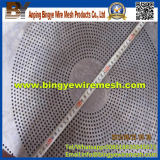 Metal perfurado da forma redonda para filtrar