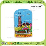 Ricordo permanente personalizzato Blackpool (RC- Regno Unito) dei magneti del frigorifero dei regali promozionali della decorazione