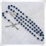Rosaire catholique en plastique Collier catholique (IO-cr240)