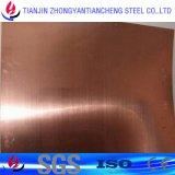 Feuille d'en cuivre de bronze de zirconium du chrome C18200 pour conducteur