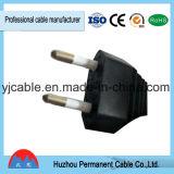 Tipo europeo - 2 - cable eléctrico del ordenador del Pin (VDE aprobado) con RoHS en precio bajo de la alta calidad