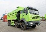 중앙 아프리카를 위한 Beiben Ng80 8X4 Weichai 엔진 팁 주는 사람 트럭