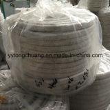 高温絶縁体のタイプセラミックファイバの編みこみの正方形のパッキングロープ