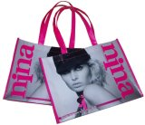 Nicht Woven Laminated Bag, für Shopping und Advertizing