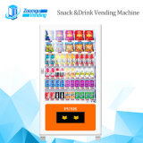 Cabinas dobles Máquina expendedora con cinta transportadora para bebidas frías y bocadillos 10L + 10rss (32sp)